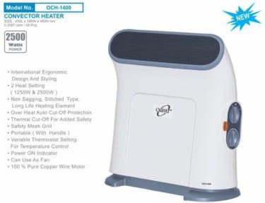 Orpat OCH-1400 2500W Room Heater image 1