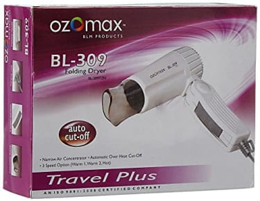 Ozomax BR-309 Hair Dryer  image 2