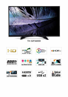 Panasonic (32FS601D) 32 Inch HD Ready Smart LED TV  image 2