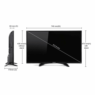 Panasonic (32FS601D) 32 Inch HD Ready Smart LED TV  image 4