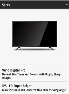 Panasonic 32F201DX 32 Inch HD Ready LED TV  image 4