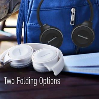 Panasonic RP-HF100GC-A On Ear Headphones  image 3