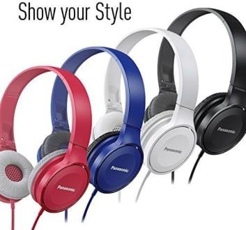 Panasonic RP-HF100GC-A On Ear Headphones  image 5