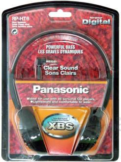 Panasonic RP-HT6E-K Headphone  image 2