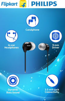 Philips SHE3590 In-Ear Headphones  image 1