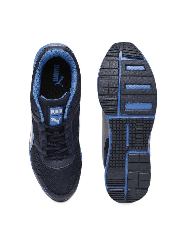 PUMA Men Navy Harbour Fashion Running Shoes image 1
