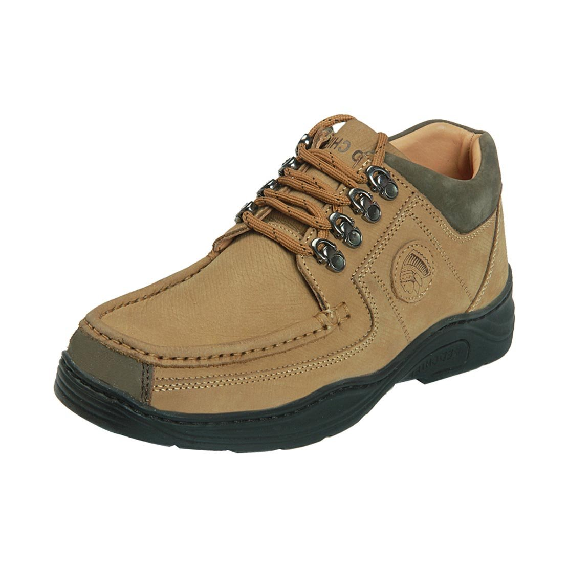 Red Chief MenS Rc1200 Camel Casual Lace-Ups 10 Uk image 1