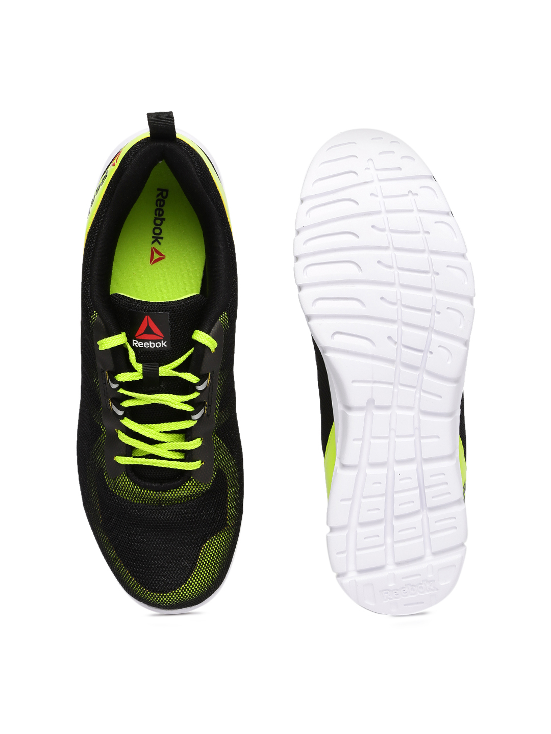 c61c960493a54 REEBOK Men Black Super Lite Running Shoes Price in India