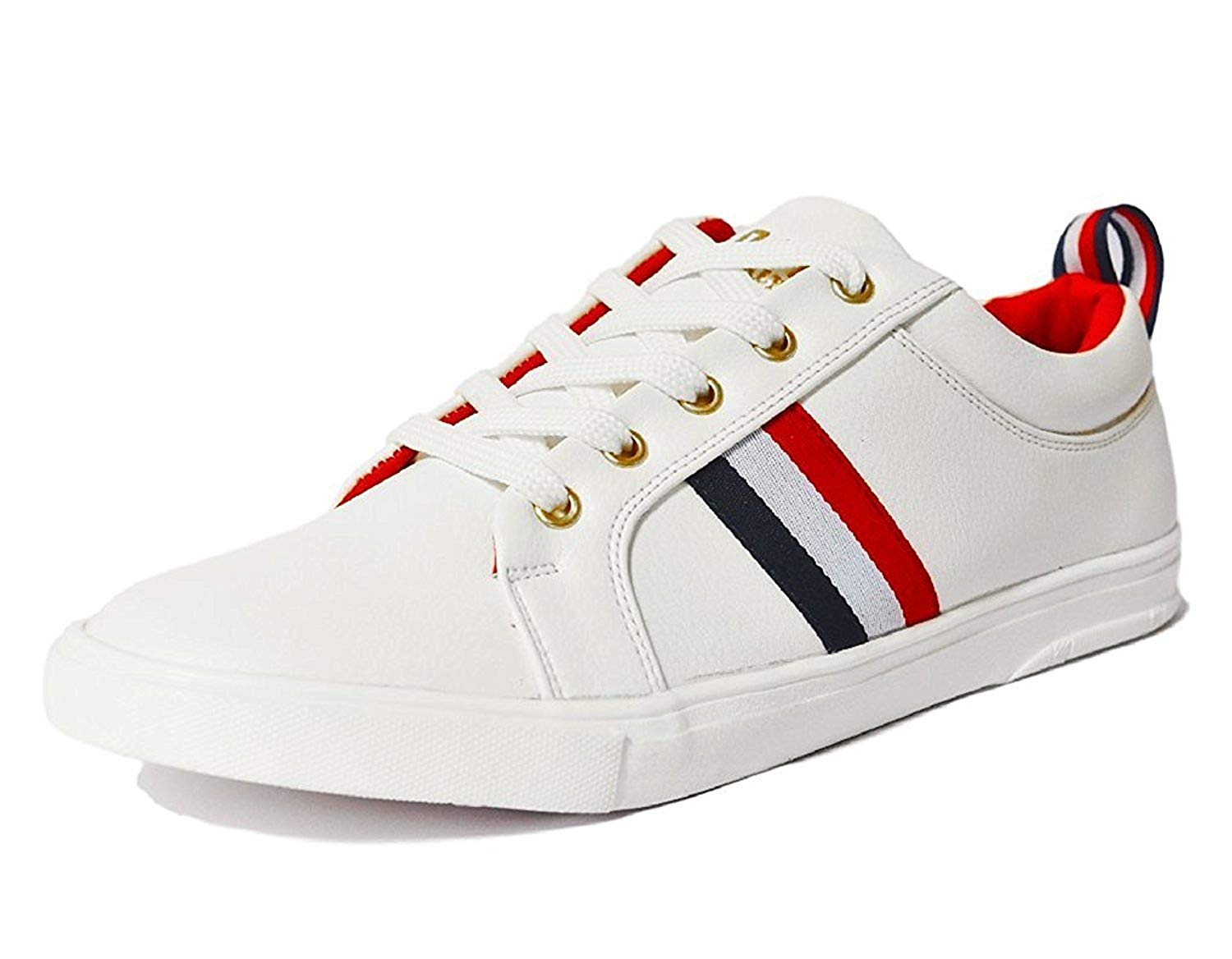Rockfield Mens Sneakers White Synthetic 8 image 1