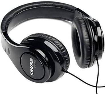 Shure SRH240A Over the Ear Headphones  image 1