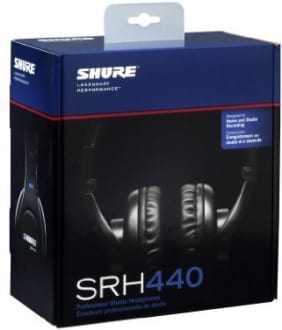 Shure SRH440 Over the Ear Headphones  image 4