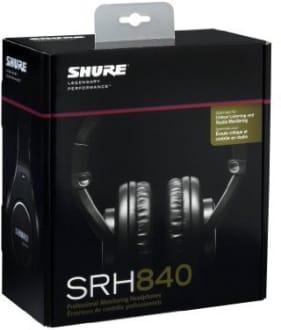 Shure SRH840 Over Ear Headphone  image 4