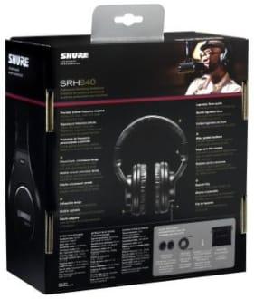 Shure SRH840 Over Ear Headphone  image 5