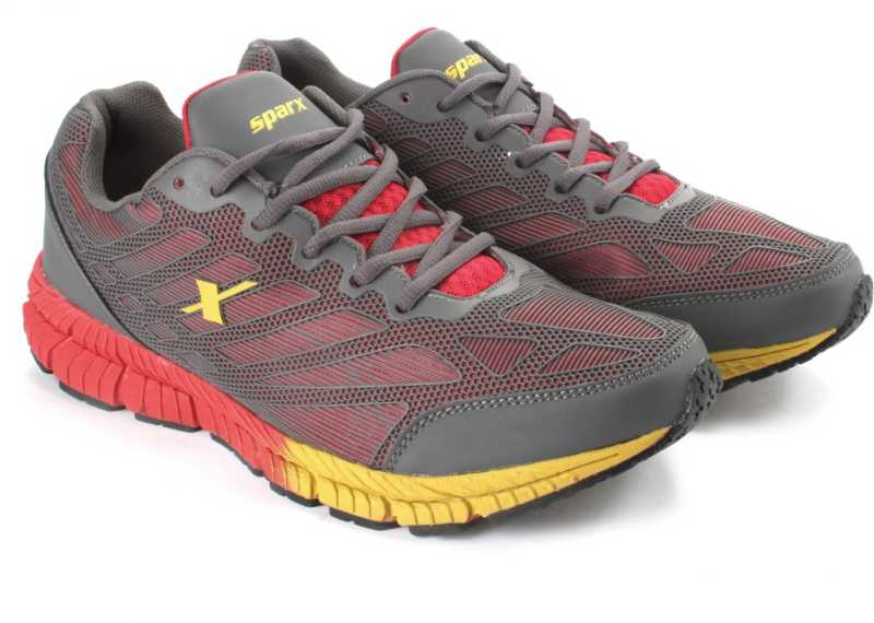 SPARX EDGE QUICK 2.0 Men Running Shoes For Men(Grey, Red) image 1