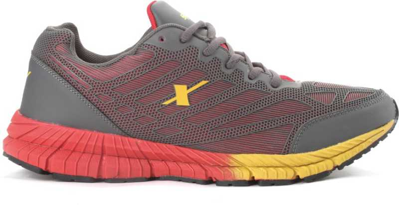 SPARX EDGE QUICK 2.0 Men Running Shoes For Men(Grey, Red) image 2