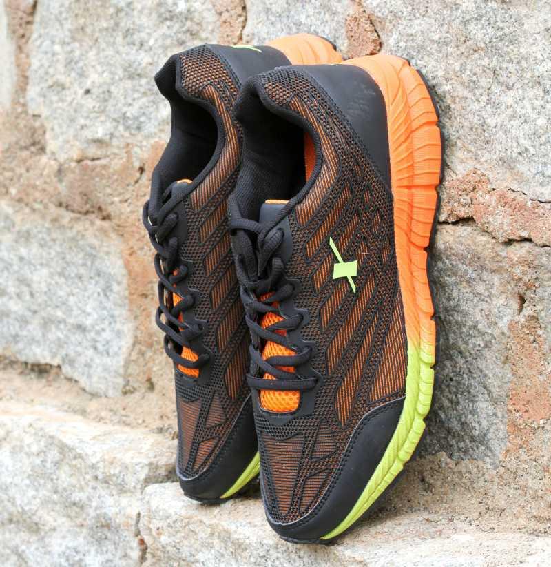 SPARX ELECTRIFY SPEED Men Running Shoes For Men(Black, Orange) image 1