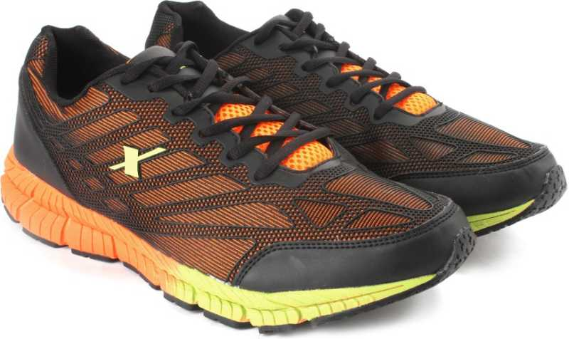 SPARX ELECTRIFY SPEED Men Running Shoes For Men(Black, Orange) image 2