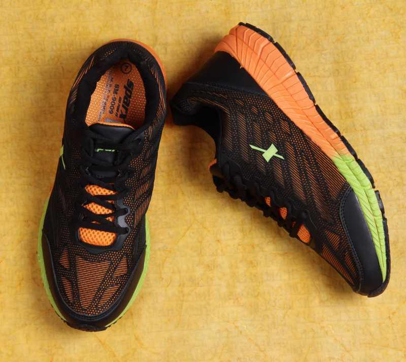 SPARX ELECTRIFY SPEED Men Running Shoes For Men(Black, Orange) image 3