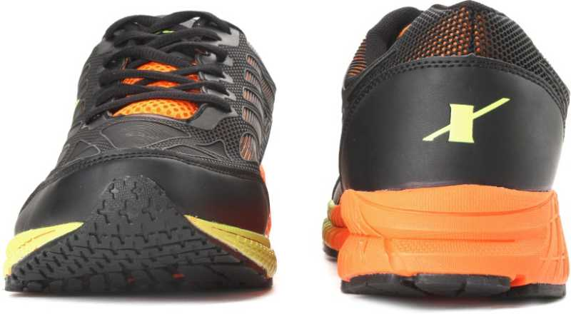 SPARX ELECTRIFY SPEED Men Running Shoes For Men(Black, Orange) image 4