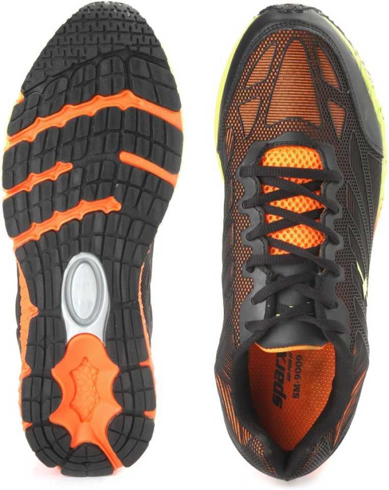 SPARX ELECTRIFY SPEED Men Running Shoes For Men(Black, Orange) image 5