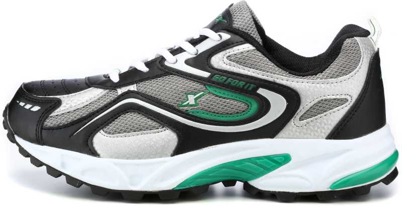 Sparx Running Shoes For Men(Black, Green) image 3