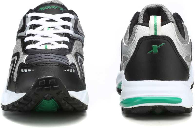 Sparx Running Shoes For Men(Black, Green) image 4
