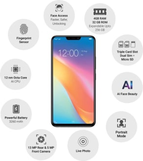 Vivo Y81 4GB  image 3