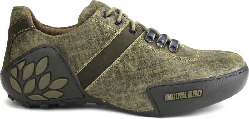 Woodland Men Outdoor Shoes For Men(Brown, Green) image 2